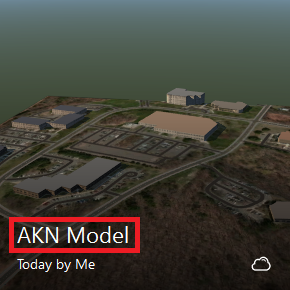 note the sqlite file name and the model name that you see in the tiles on the infraworks 360 home screen are the same