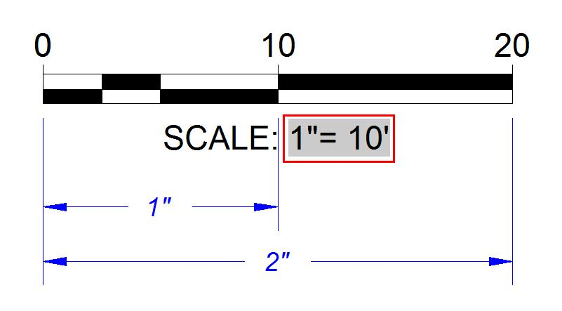 Create a Dynamic Scale Bar linked to a Viewport in AutoCAD ...