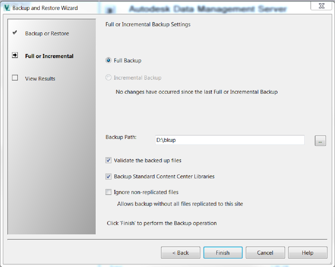 Migrating Your Autodesk Vault Server (Part 1 ADMS Backup and